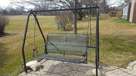 $75   Outdoor swing
