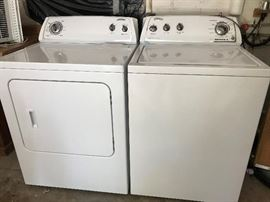 Whirlpool Washer & Dryer. Like New Condition