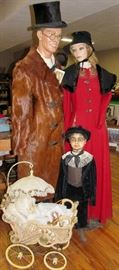 1940's & 1950's Full Size Mannequins
