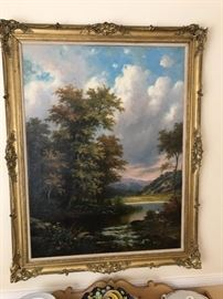 Nice large old painting