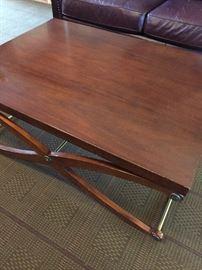 "Rectangle table - 50"" long, 36"" deep, 19"" H"