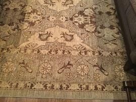 Fireplace rug PJK Peshawar #28676 8' x 10'