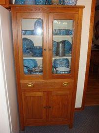 Antique Hutch & Graniteware Collection