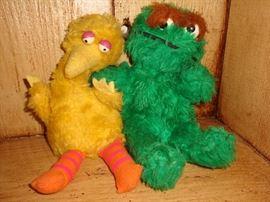 Sale Mascots!!  Big Bird & Oscar the Grouch!~1960's