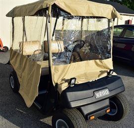 At 8PM: EZ-GO Golf Cart