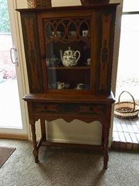 Handpainted China Hutch
