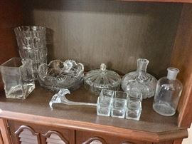 Crystal and cut glass