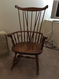 Nichols and Stone rocking chair