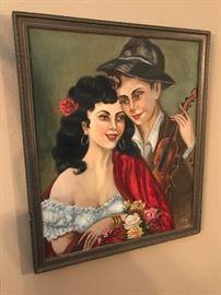 Fantastic European School Signed Oil Painting