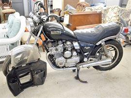 Estate Vehicle: 1982 Yamaha Maxim G50 Motorcycle
