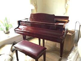 KOHLER&CAMBELL BABY GRAND PIANO