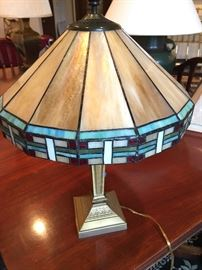 Dale Tiffany lamp stain glass