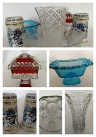 Collage Glass Items