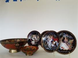 Collectors Plates from Thailand and Enameled Brass    http://www.ctonlineauctions.com/detail.asp?id=701628