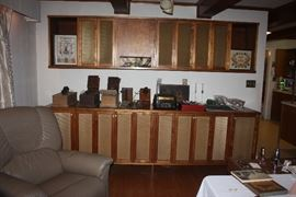 Retro ~ 1960's Wall unit.
