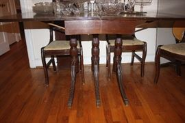 1930's Table and Chairs