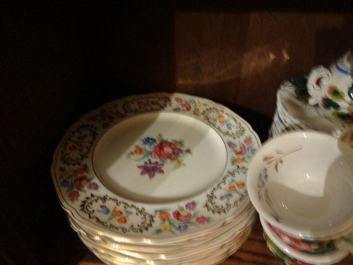 Bavarian plates.