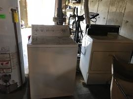 A great pair of washer and dryer.