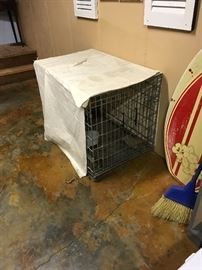 A dog crate for your favorite friend