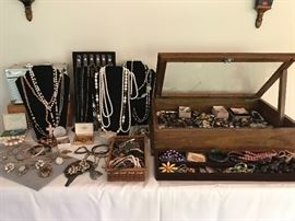 Look at all the jewelry