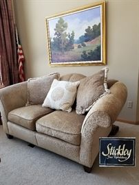 Stickley Upholstered Love Seat