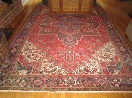 """Wool oriental rug-11'8"""" x 7'10"""""""