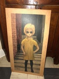 Margaret Keane The Waif from the Night Owl in Greenwich Village NYC back in the day