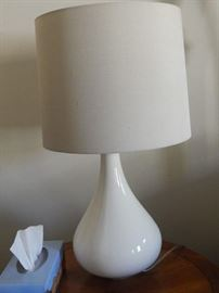 Contemporary lamp.