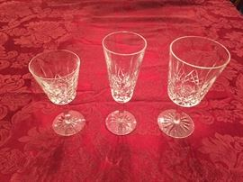 "Waterford ""Lismore"" crystal.  Various pieces."