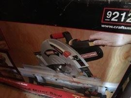 Miter Saw (Craftsman)  (new in box)