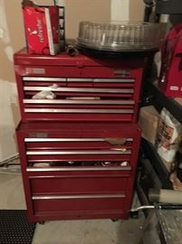 Craftsman tool box (tools sold separately)