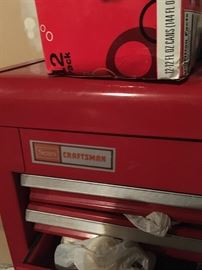 brand name - Craftsman (tall tool box)