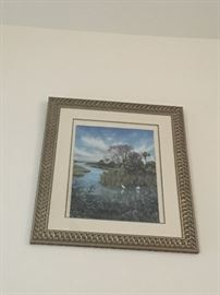 scenic framed art