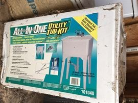 Utility Tub 'kit' (new in box)