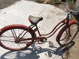 Vintage Schwinn and other old bikes