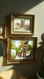 framed Oils!!