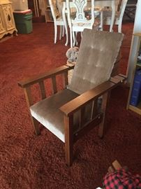 childs antique chair