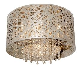 Swarovski Crystal Basket Plafonnier