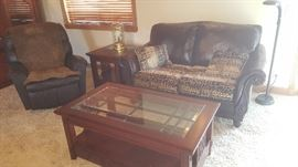 Leather and Broyhill Furniture