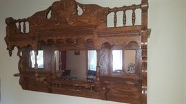 Owner Does Wonderful Wood Working Projects Like This Wall Shelf