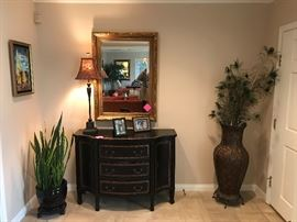 Bow Front Dresser/Commode