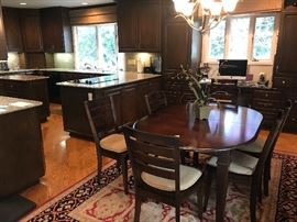 Dining Room Table with Six Chairs
