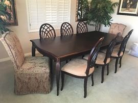 Formal Dining Table and  Chairs