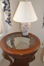 end table has been sold.  Pair of lamp are still available for Saturday purchase