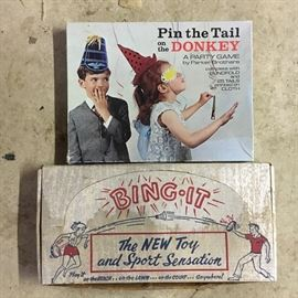 Vintage games.