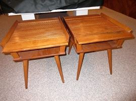 mcm end tables, sold as pair