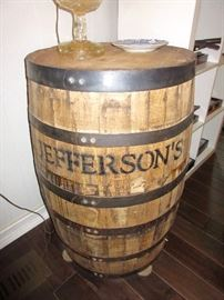 very cool beer barrel
