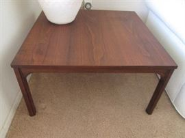 "We have some wonderful MCM pieces!  End Table is featured here...30"" X 30"""