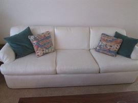 Custom-made Sofa and 2-Matching Chairs