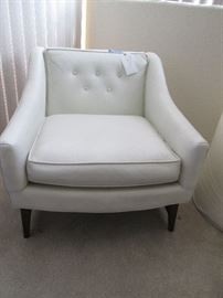Wonderful MCM White Chair